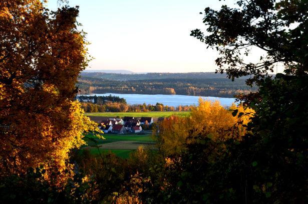 Blick auf Enderndorf am See