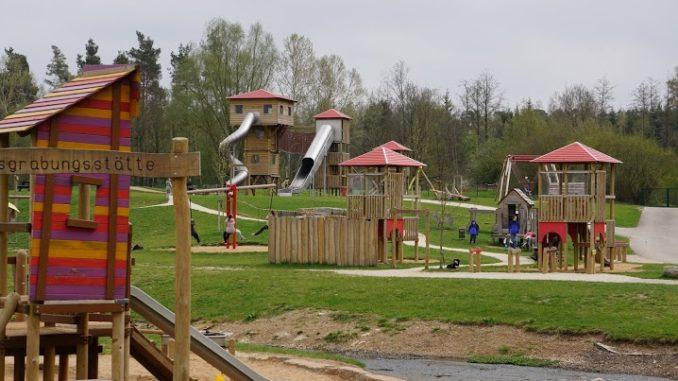 Spielplatz Wald