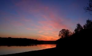 Igelsbachsee Abendlicht2