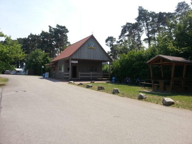 Kletterpark Kassenhaeuschen
