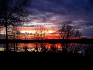 Rothsee Sonnenuntergang