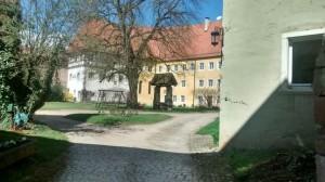 Schloss Sandsee Innenhof