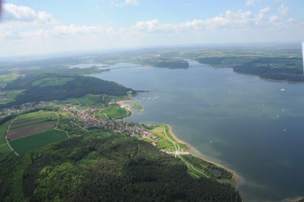 Seenland Luftbild