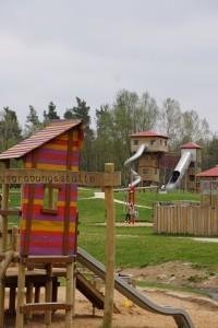 """Abenteuerspielplatz """"Römer und Alemannen"""" am Altmühlsee"""