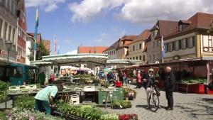 Wochenmarkt Gunzenhausen