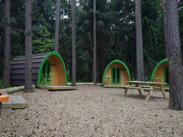Campingplatz am Brombachsee - Glamping